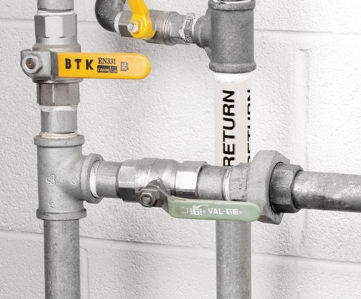 British Standard Pipeline Marking Tape - Return - Seton