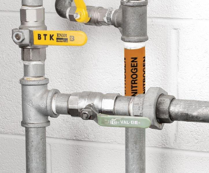 British Standard Pipeline Marking Tape - Nitrogen - Seton