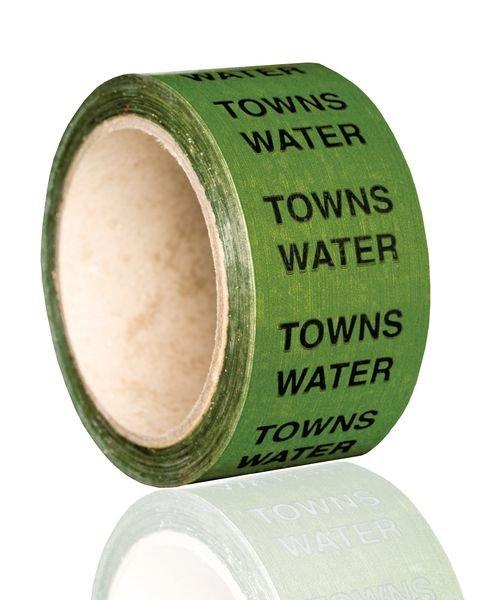 British Standard Pipeline Marking Tape - Towns Water