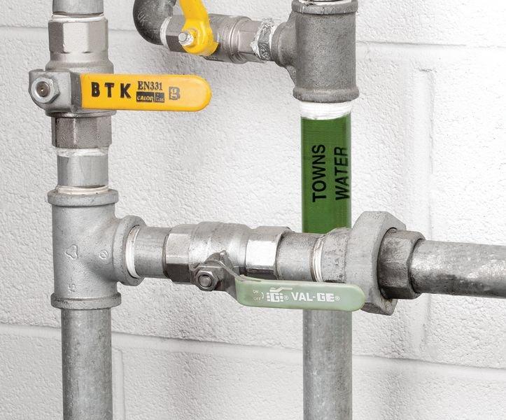 British Standard Pipeline Marking Tape - Towns Water - Seton