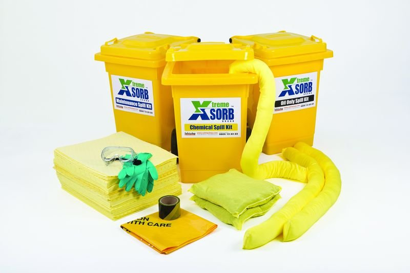 Oil Economy Wheeled Spill Kit