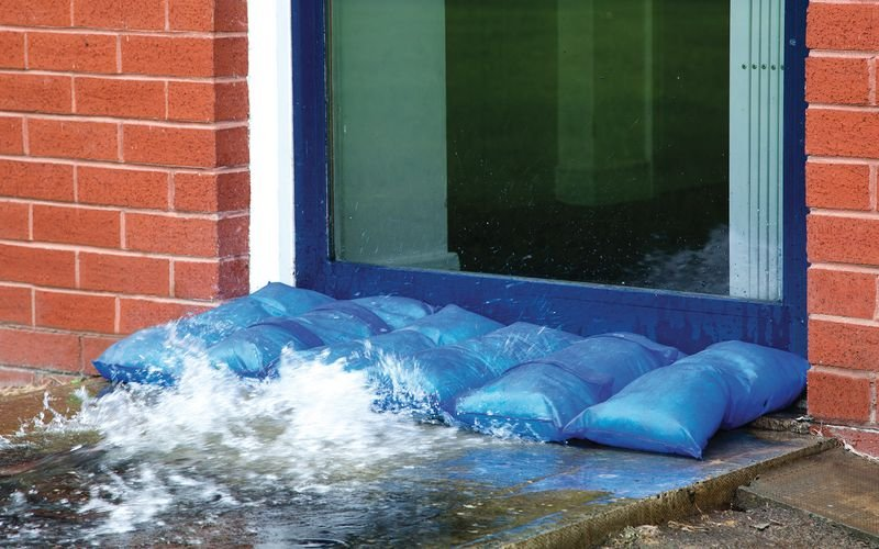 Hydrosack Flood Prevention - Safety Signs