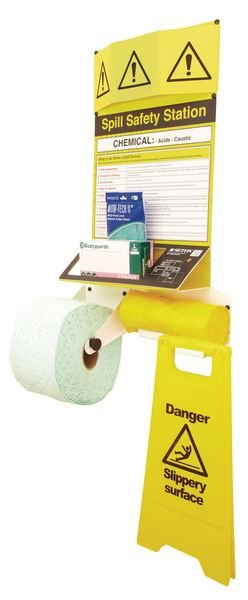 Chemical Low Hazard Spill Safety Stations - Seton