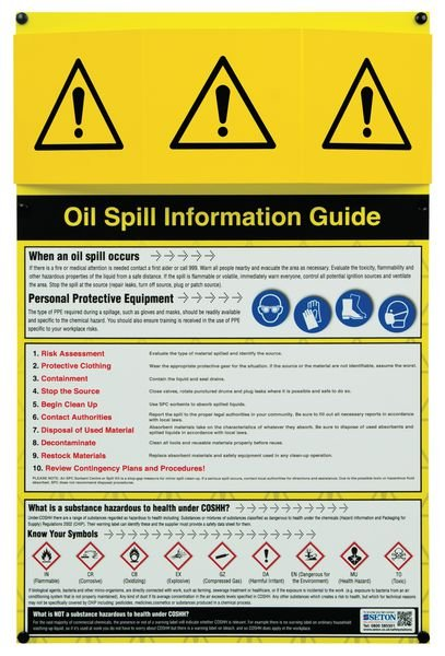 Oil Spill Information Points