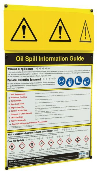 Oil Spill Information Points - Seton
