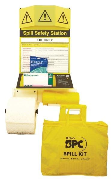 Oil High Hazard Spill Safety Stations - Spill Response Equipment & Spill Kit Accessories