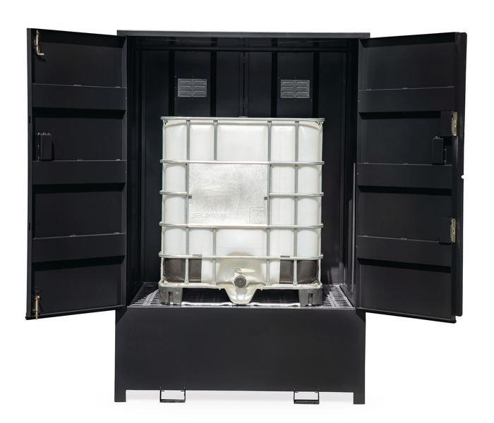 Armorgard DrumBank IBC Containter Storage - Grey - Seton