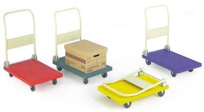 Standard Plastic Platform Trolleys