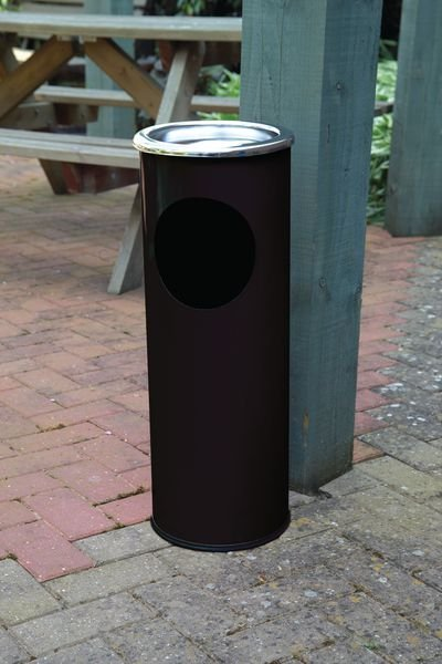 Combined Ash Stand & Litter Bin - Seton