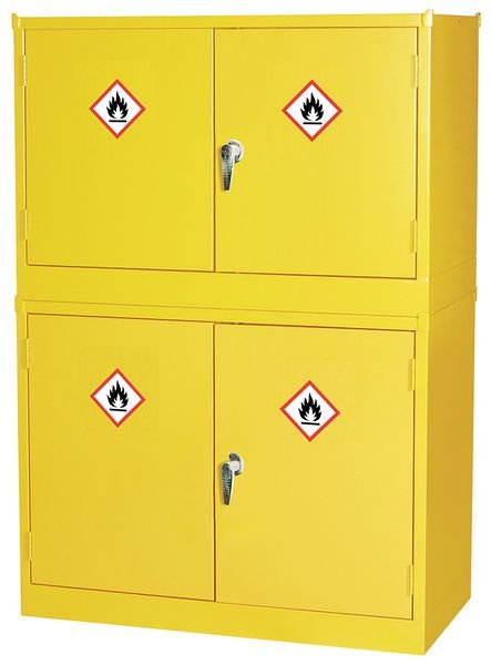 Dangerous & Flammable Stackable Substance Storage Cabinets
