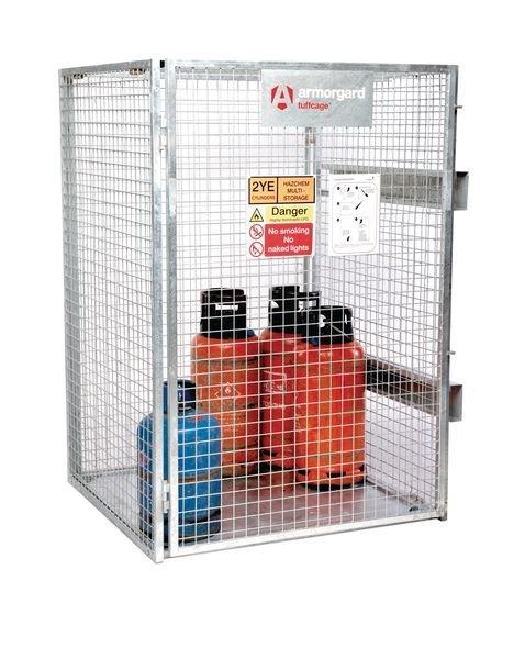 Tuff Collapsible Cylinder Storage Cage - Gas Cylinder Storage
