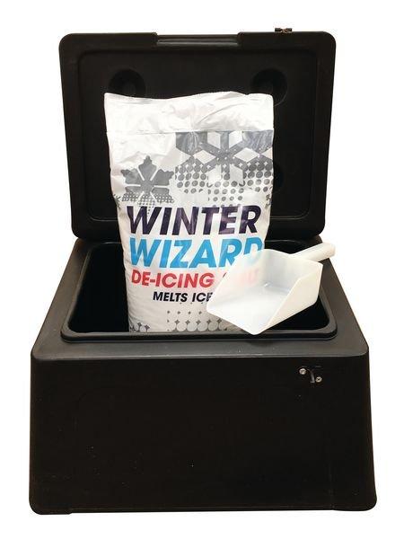 30 Litre Mini Grit Bin Kit