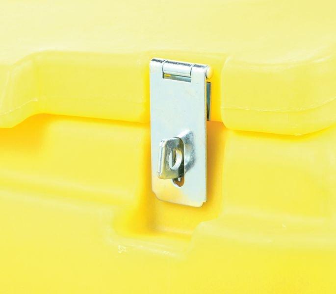 400 Litre Lockable Grit Bin - Seton