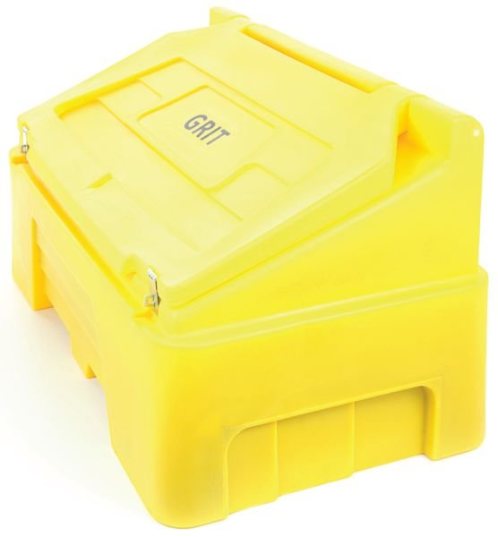 400 Litre Lockable Grit Bin - Grit & Salt Bins