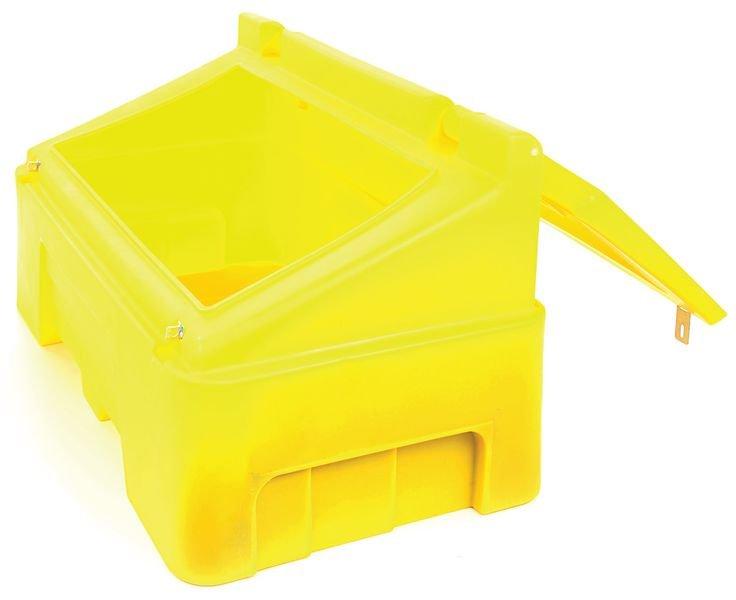 400 Litre Lockable Grit Bin - Winter Safety Equipment