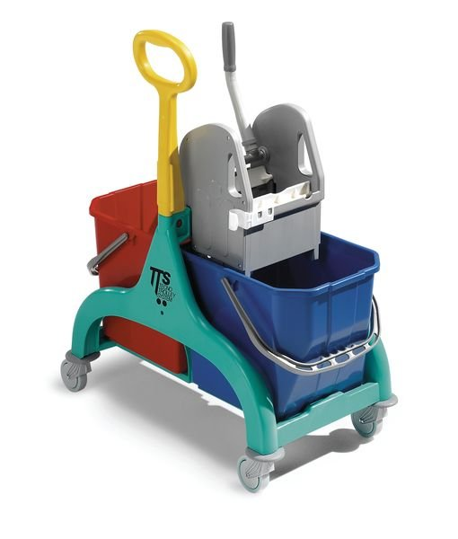 Double Bucket Trolley with Wringer