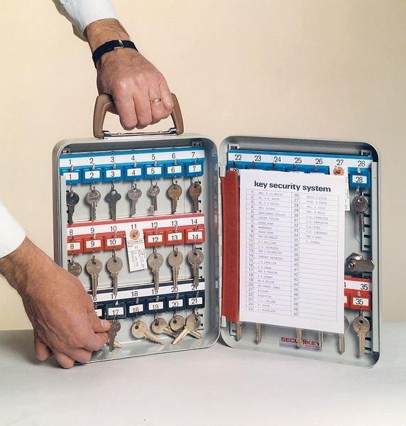 Setonsecure Portable Key Cabinet - Key & Padlock Cabinets