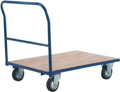 Standard Wooden & Mesh Platform Trucks