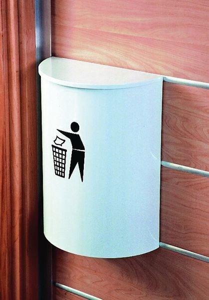 Wall-Mounted Litter Bin