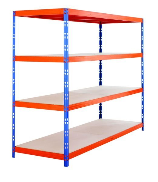 Heavy-Duty Boltless Racking - 400kg