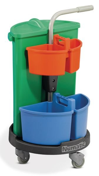 Housekeeping Carousel With Twin Section Caddies