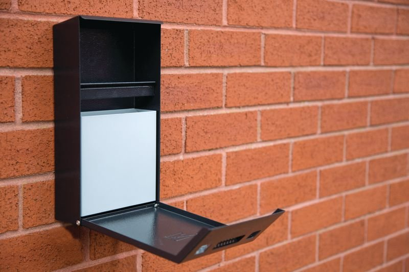 Compact Cigarette Bin - Smoking Control & Shelters