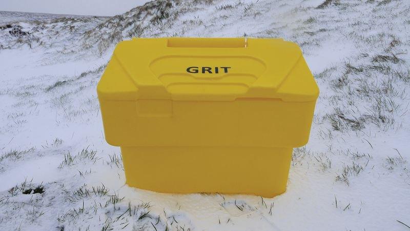 115 Litre Grit Bin - Ice, Snow & Flood Control