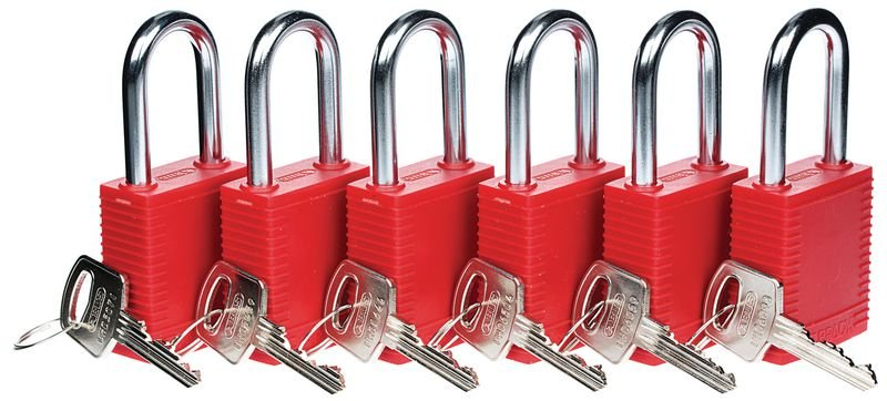 Lockout Safety Padlocks