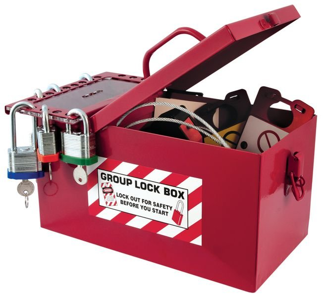 Group Lock Box - Seton