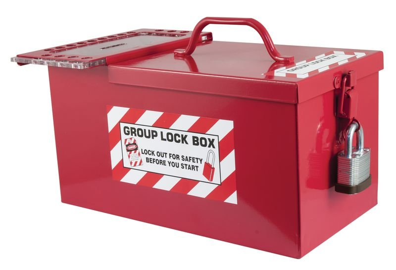 Group Lock Box - Lockout Boxes & Cabinets