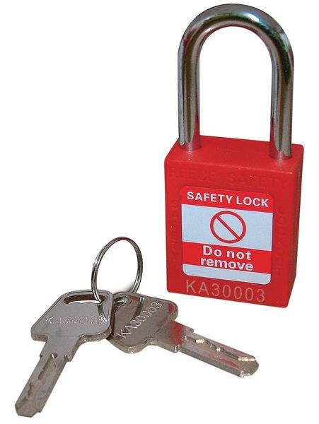 Nylon Body Safety Padlocks