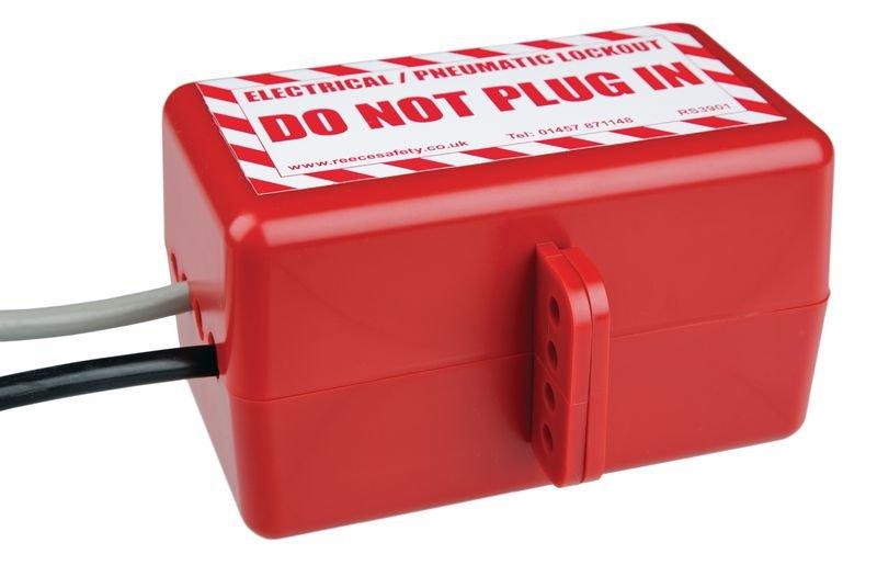 Large Electrical & Pneumatic Lockout - Seton