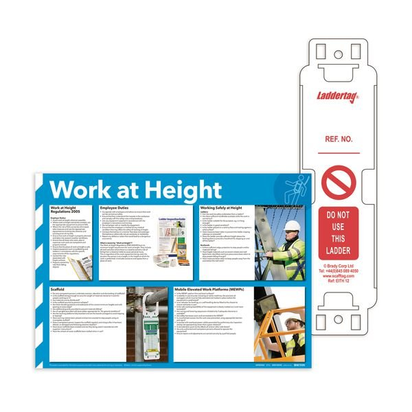 Laddertag & Work at Height Poster Kit