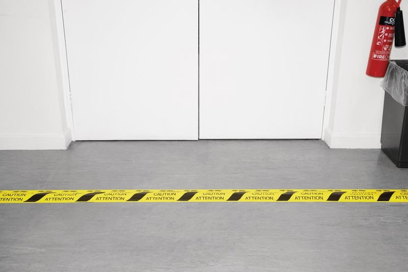 Cable Protection Tape / Cable Hazard Tape - Safety Flooring