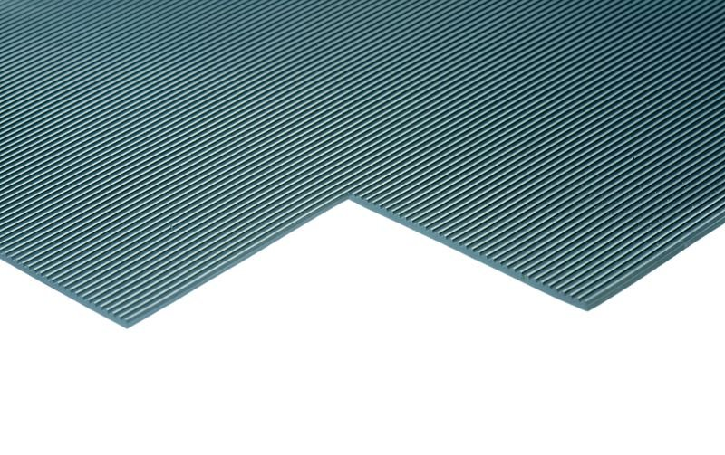 Slip Resistant Fluted Mat - Linear Metre