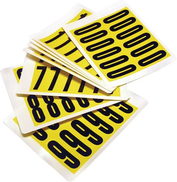 Self-Adhesive Numbers & Letters - Complete Packs