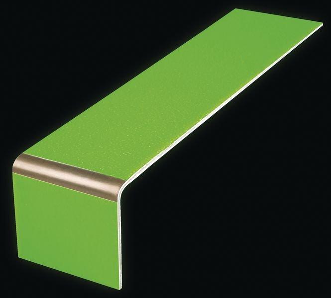 Photoluminescent Aluminium Step Edge Markers - Seton