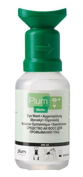 Plum Saline Eye Wash Solution