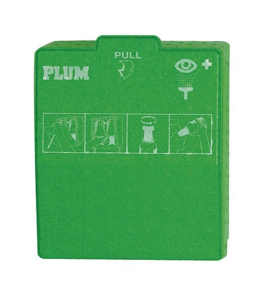 Plum Combined Emergency Eye Wash Station Boxes - Seton