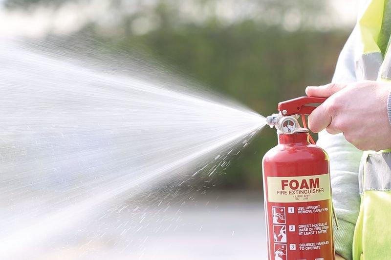 Compact Foam Fire Extinguisher