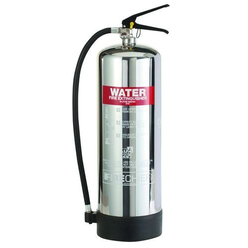 Water Chrome Effect Fire Extinguishers