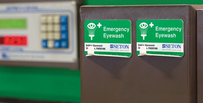 Quick Access Eye Wash Storage Hook - Eye Wash & Emergency Showers