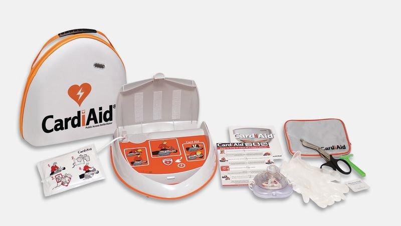 CardiAid Semi-Automatic Defibrillator With Servicare - Seton