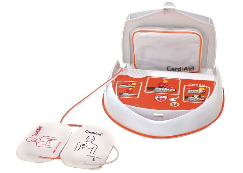 CardiAid Semi-Automatic Defibrillator With Servicare - AEDs and Resuscitation Equipment