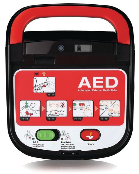 Mediana HeartOn Defibrillator & Casualty Prep Kit - Seton