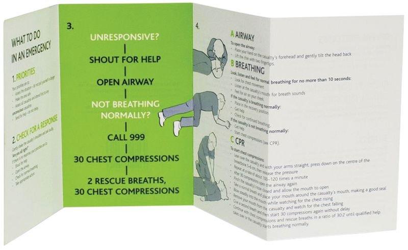 First Aid Guidance Leaflet - Seton