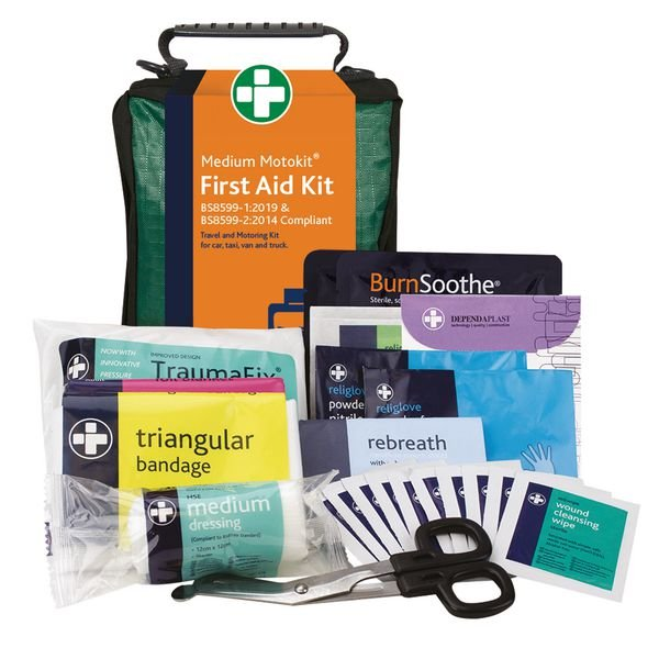 British Standard Compliant Vehicle First Aid Kits