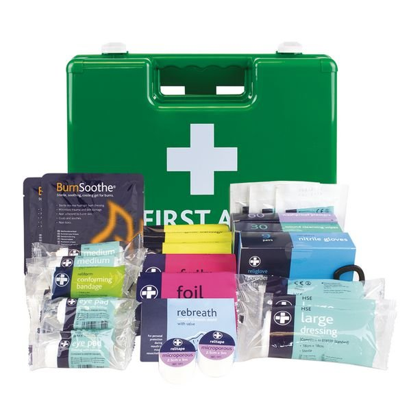 British Standard Compliant Deluxe First Aid Kits
