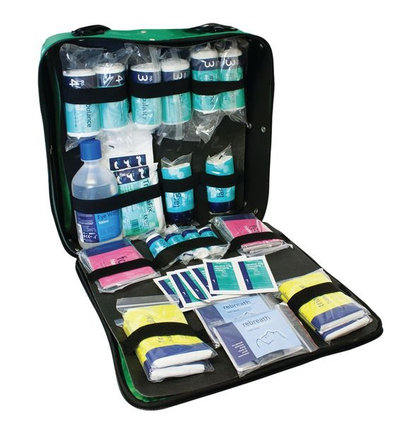 First Response First Aid Kit In Shoulder Bag - First Aid Bags