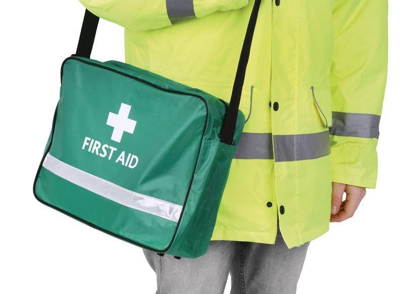 British Standard Compliant Grab Bag First Aid Kit - First Aid Bags